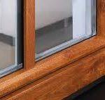 قیمت درب و پنجره upvc رنگی طرح چوب